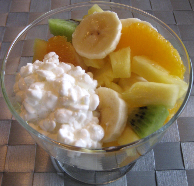 Amazing Fruit Salad With Cottage Cheese Kennros Food Download Free Architecture Designs Scobabritishbridgeorg