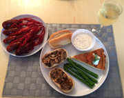 crayfish side dishes
